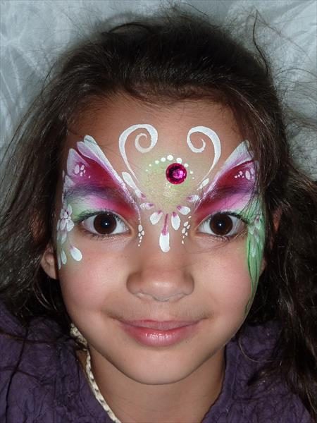 Tag Flora Split Cake Face Paint From Face Paint World