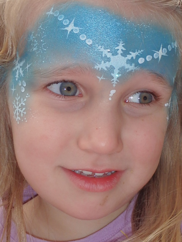 Frozen party face painting kit from face paint world for Frozen face paint