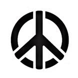 Tap Face Painting Stencil TAP033 Peace