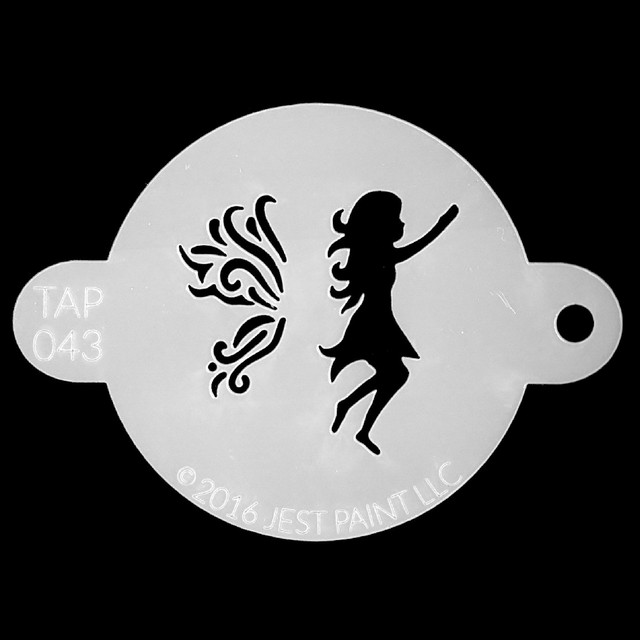Tap Face Painting Stencil TAP043 Fairy