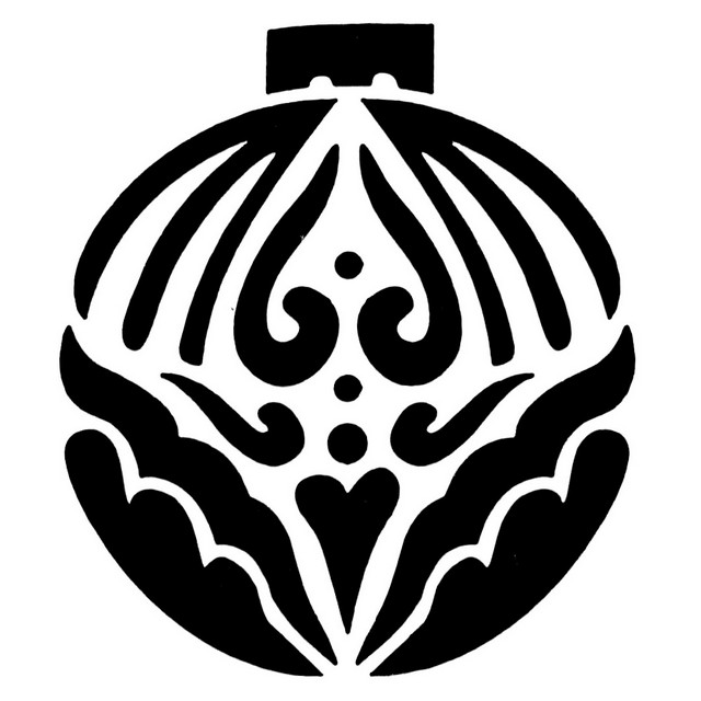Tap Face Painting Stencil TAP069 Large Christmas Ornament