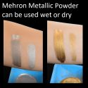 Use Metallic Powder wet or dry