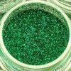 Mehron Paradise Green cosmetic glitter 15ml jar