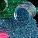 Mehron Paradise Pastel Sky Blue cosmetic glitter 15ml jar