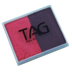 TAG Berry Wine and Pink 50g split-cake face paint