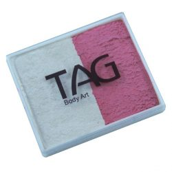 TAG Pearl Rose and Pearl Rose 50g split-cake face paint