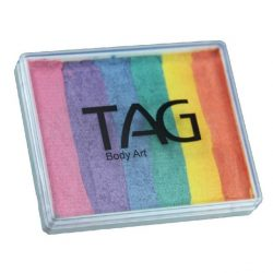 Tag split-cake face paint - Pearl Rainbow