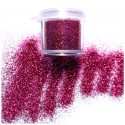 Tag Bright Pink Cosmetic Glitter 7.5ml Jar