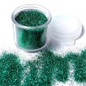 Tag Emerald Green Cosmetic Glitter 7.5ml Jar