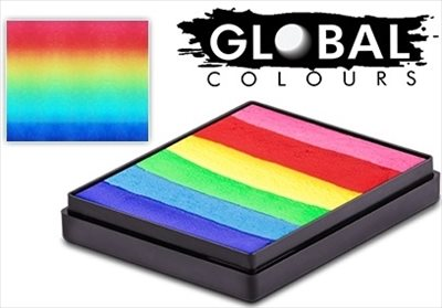 Global Bright Rainbow cake