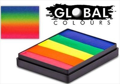 Global neon rainbow
