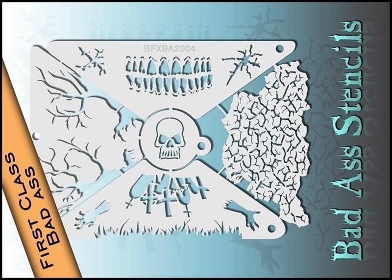 BFXBA2004 1st Class Bad Ass Stencil