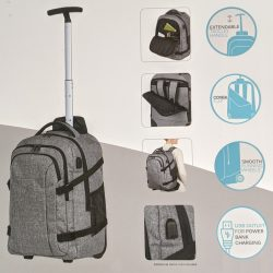 wheeled backpack for face paint kit