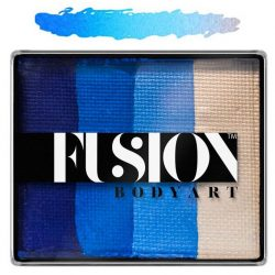 Fusion Body Art Face Painting Rainbow Cake Frozen Shimmer 50g