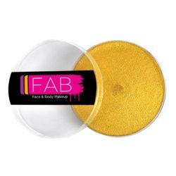 FAB Glitter Gold face paint 45g