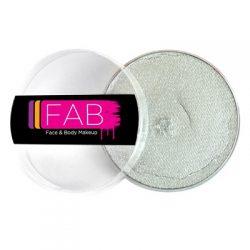 FAB Metallic Silver face paint 45g