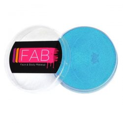 FAB Ziva Blue Shimmer face paint 45g