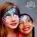 Silly Farm Mermaid Pixie Rainbow Cake face painting
