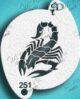 Diva scorpion stencil