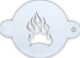 TAP045 flame stencil