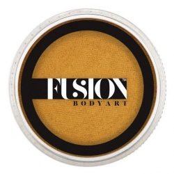 Fusion Body Art Face Paints Pearl Metallic Gold 32g