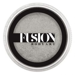 Fusion Body Art Face Paints Pearl Metallic Silver 32g