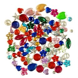Gems and Jewels - 100 Mixed Jewels