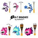 Bolt Brush series by Jest Paint