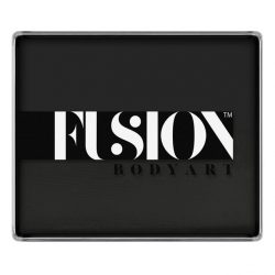 Fusion Body Art Face Paint Prime Strong Black 100g