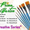 Prima Barton Creative Series face painting brushes