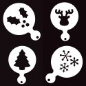 Christmas face painting stencil set
