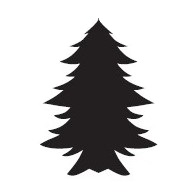 Tap Face Painting Stencil TAP036 Christmas Tree