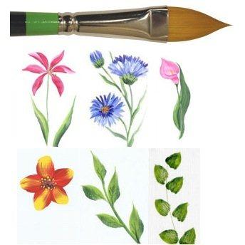 Loew Cornell Flora Brush #6