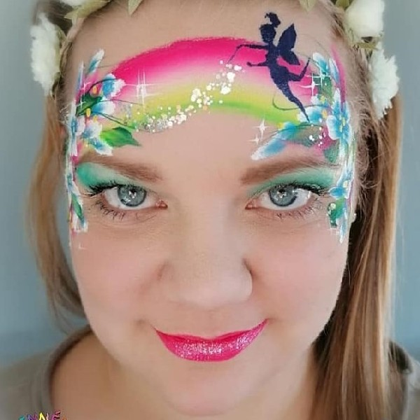Diva Face Painting Stencil - Tinkerbell Fairy Fun