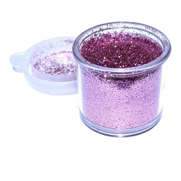 ABA Fine Cosmetic Glitter 7.5ml Jar – Cotton Candy