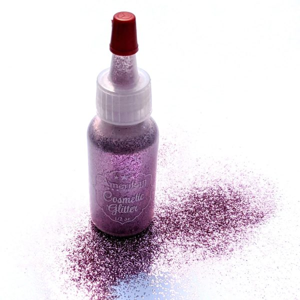 ABA Fine Cosmetic Glitter 15ml Puffer Bottle – Cotton Candy