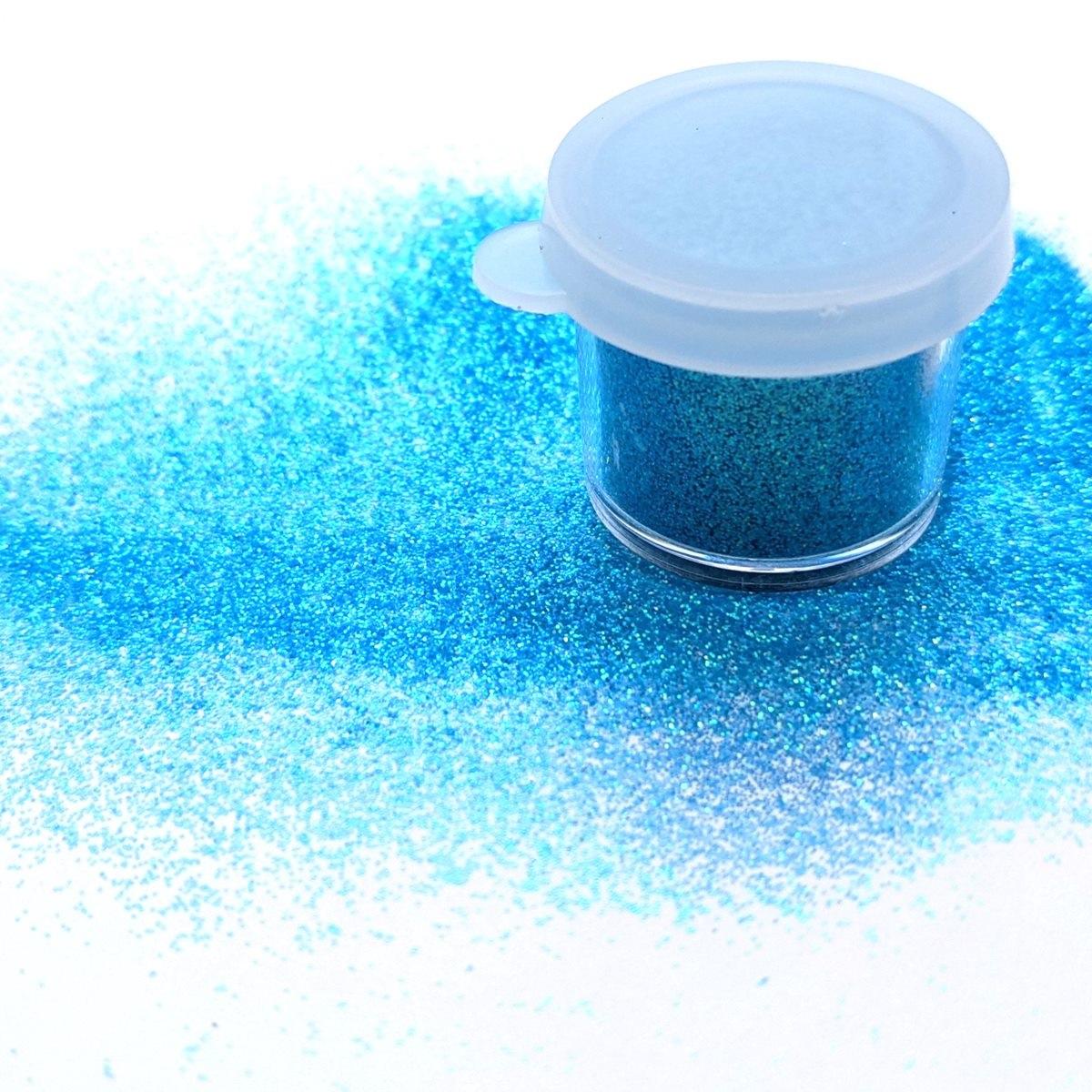 ABA Fine Cosmetic Glitter 7.5ml Jar – Glacier Blue