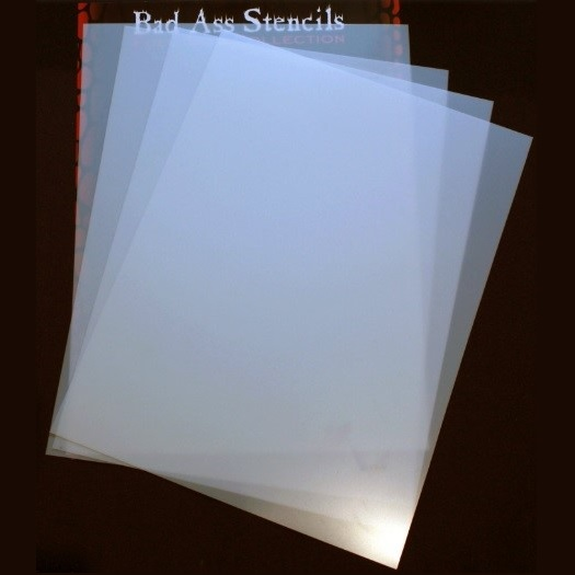 Bad Ass Blank Mylar A4 Sheets 4 pack