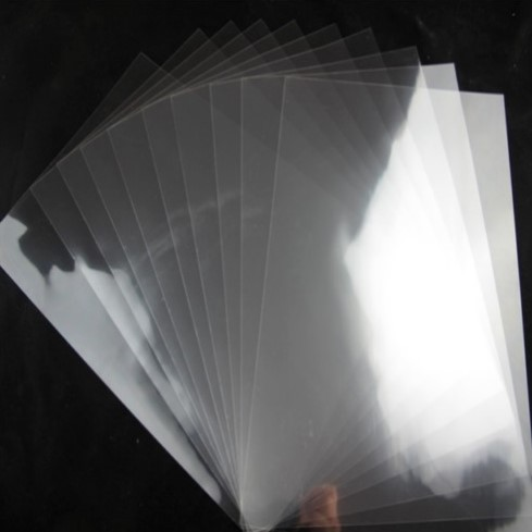 Blank Mylar A4 sheet - Single