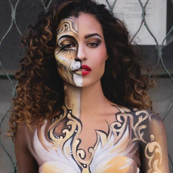 Mehron Paradise Makeup AQ - Brilliant Dore 40g