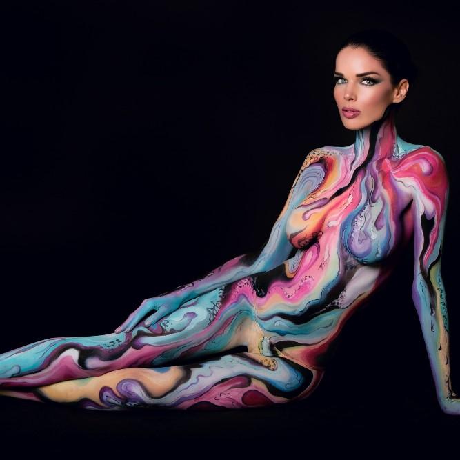Mehron Paradise Makeup AQ - Dark Pink 40g