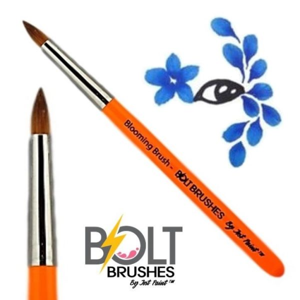 "Bolt Brushes by Jest Paint Round Brush - ""Blooming Brush"""
