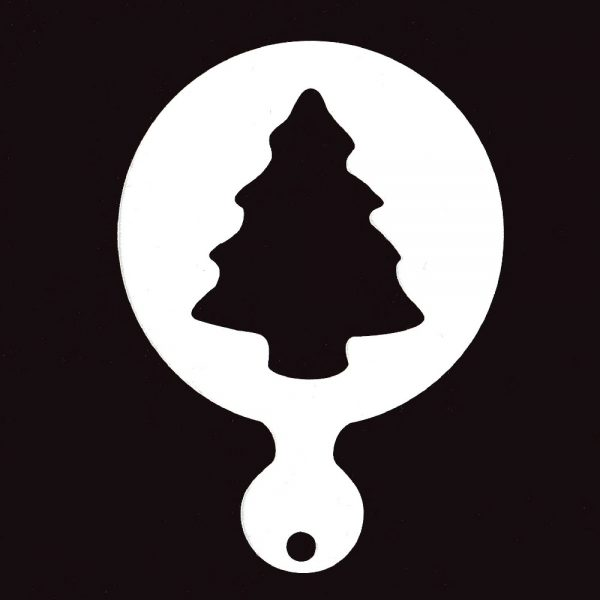 Face Painting Stencil - Christmas Tree