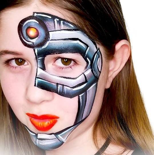 Fusion 1 inch one-stroke face paint - Crash By Onalee Rivera 30g