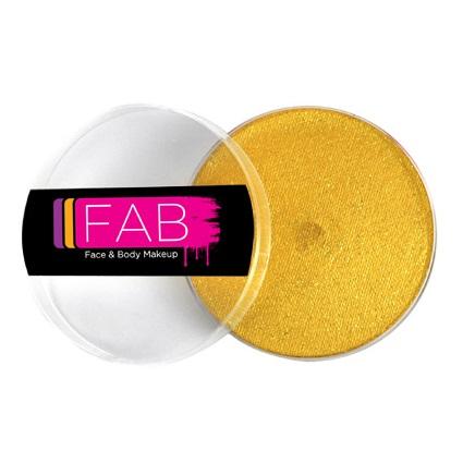 FAB face paint - Glitter Gold 45g