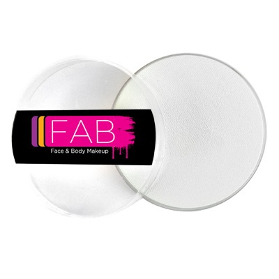 FAB face paint - White 45g