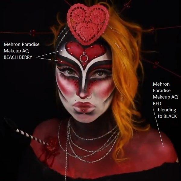 Mehron Paradise Makeup AQ - Red 40g