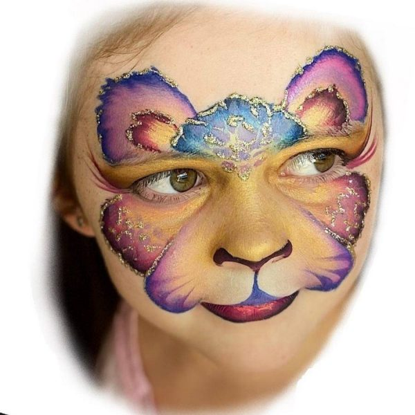 Fusion 1 inch one-stroke face paint - Foxy 30g