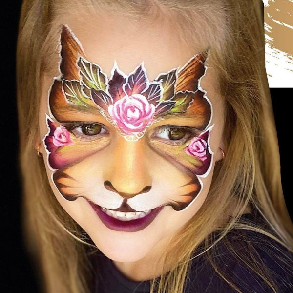Fusion 1 inch one-stroke face paint - Tigress 30g