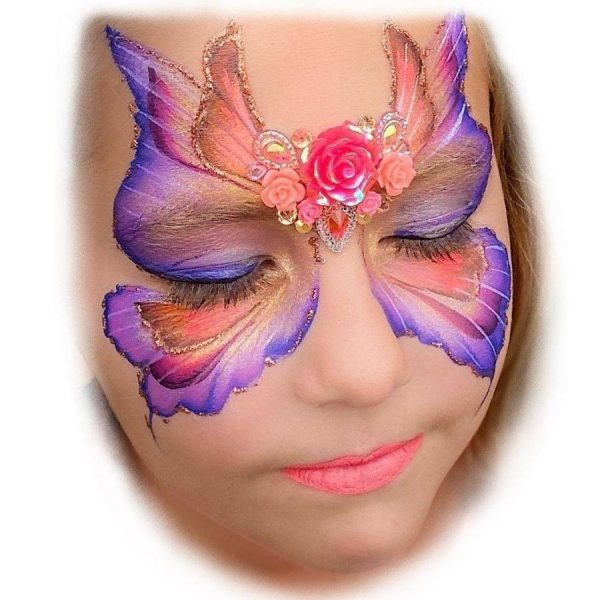 Fusion 1 inch one-stroke face paint - Fairy Blossom 30g